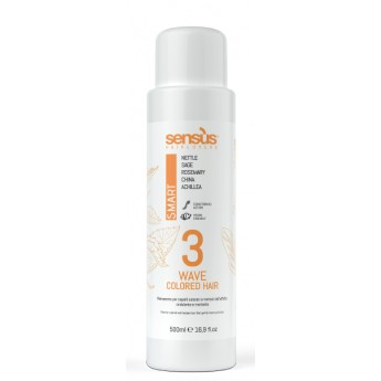Sens.us smart perm 500 ml - trvalá ondulace na barvené vlasy 3
