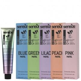 akce 2+1 Sensus Direct Pastel - přímá barva pastelová zelená 100 ml