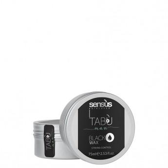 Sensus Black Wax - středně tužící černý vosk 75 ml