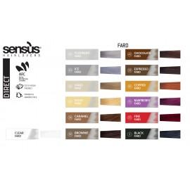 akce 3+1 Sensus Fard 1 Black 200 ml - barevná maska černá