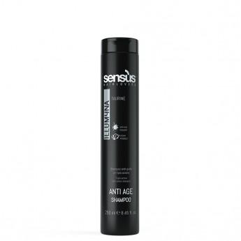 Sensus Man AntiAge Shampoo - šampon na šedivé a bílé vlasy 250 ml