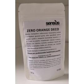Sensus Zero Orange deco - modrý odbarvovač tester 50 gr
