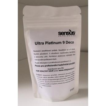 Akce 1+1 Sensus Ultra Platinum 9 deco - zesvětlovač pro platinovou blond dóza 500 g