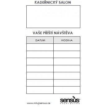 Sensus objednávkové kartičky 50 ks