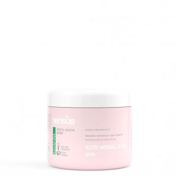 Sensus Nutri Normal Fine Mask - výživná maska pro jemné vlasy 500 ml