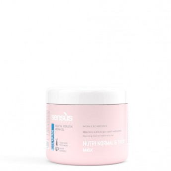 Sensus Nutri Normal Thick Mask - výživná maska pro silné vlasy 500 ml