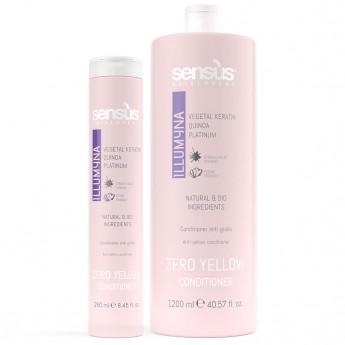 Sensus Zero Yellow Condicioner - kondicioner pro žloutnutí 1200 ml
