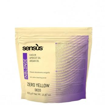 Sensus Zero Yellow Deco 450 g – fialový zesvětlovač o 7 tónů