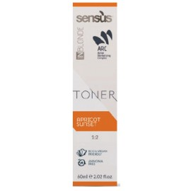 akce 12+2 Sensus Inblonde Toner 60 ml – tónovací krém - meruňková 60 ml