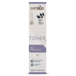 Sensus Inblonde Toner 60 ml – tónovací krém - ledová
