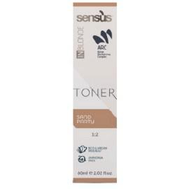 Sensus Inblonde Toner 60 ml – tónovací krém - písková