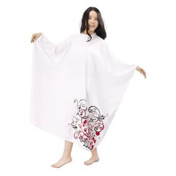 MILA pláštěnka na stříhání FANTASY bílá