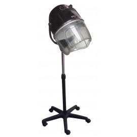 Fox Air Ionic Kadeřnická sušící helma na stojanu Černá