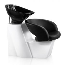 Kadeřnický mycí box Detail Rio - černý