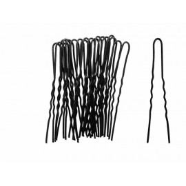 Vlásenky černé 6,5cm 20ks