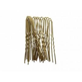 Vlásenky zlaté 4,5cm 20 ks