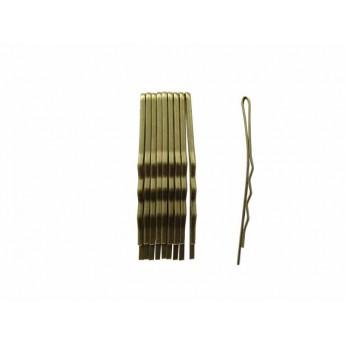 Vlasová spona 4 cm černá - 10ks