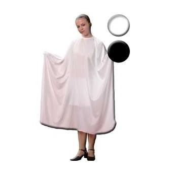 Fox Basic Line kadeřnická pláštěnka bílá