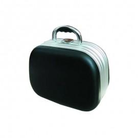 Kadeřnický kufr ovál černý