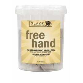 Black Free Hand 450 g - melírovací prášek