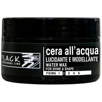 Black Water Wax For Shine & Shape 100 ml - vosk na vlasy